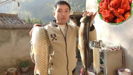 大叔分享永丰霉鱼的腌制方法,过程很详细,爱吃鱼的一定会喜欢