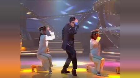 郑少秋模仿郭富城唱跳《狂野之城》,后半段郭富城一起跳真是精彩