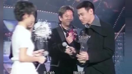 郑秀文、陈慧娴等为张学友颁奖, 歌神也太幸运了, 全是美女!