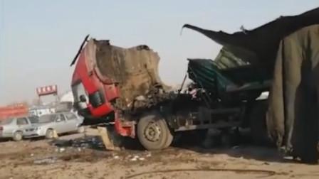 吉林一工业园区内,焊接工人焊接油罐车发生爆炸,造成两死一轻伤