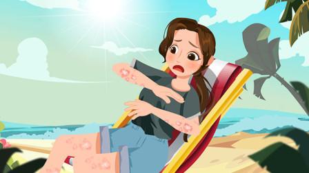 海边浪一圈,皮肤红斑都正常吗?皮损莫忽视,小心银屑病!