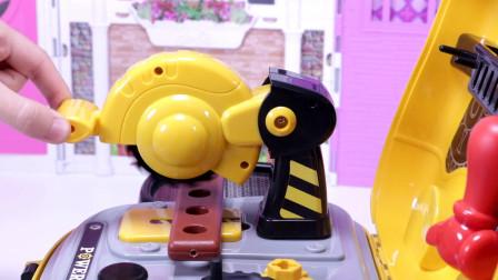 亲子玩具过家家 小小工程师工具箱玩具试玩,养成收拾工具玩具好习惯
