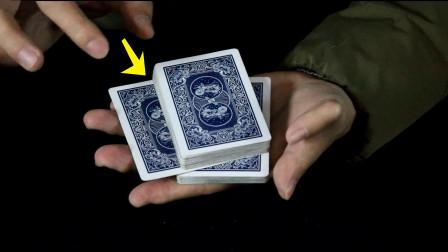 手指不碰牌也能移动牌,是意念还是魔术?现在揭秘!