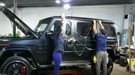 开洗车美容店:小白也能上手操作的专车专用隐形车衣