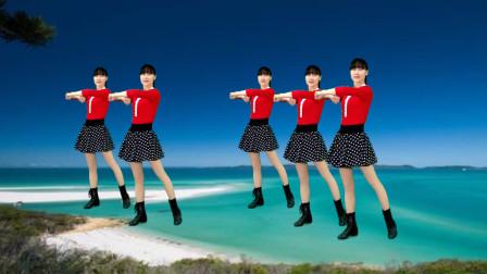 32步广场舞《百花香》中老年流行舞蹈,改善睡眠体质好!