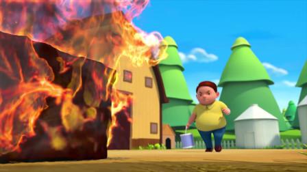 发生火灾时,孩子们第一时间应该做什么