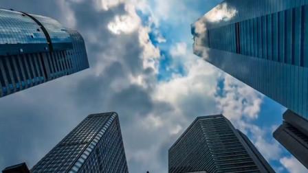 城市景观延时摄影带你纵览广州市