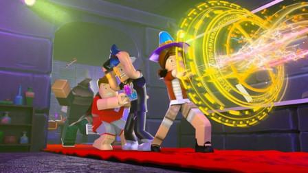 小飞象解说✘Roblox魔术师模拟器 一根神奇的棒子!拥有它就拥有了魔法!乐高小游戏