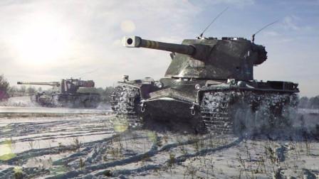 坦克世界 飓风小镇 行云流水KRV