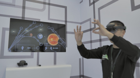 OPPO 未来科技大会 2019 体验区现场上手猛玩「WEIBUSI 出品」