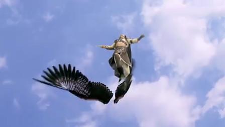 雷震子刚想用翅膀飞走,没想被小伙用神器打断双翅,叫声十分凄惨