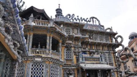 中国最值钱的房子,由7亿块古瓷片建成,明清瓷器直接镶在外墙上!