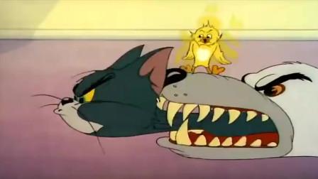 """猫和老鼠:汤姆猫被狗咬了,老鼠却要拿""""剪刀""""剪汤姆的舌头"""