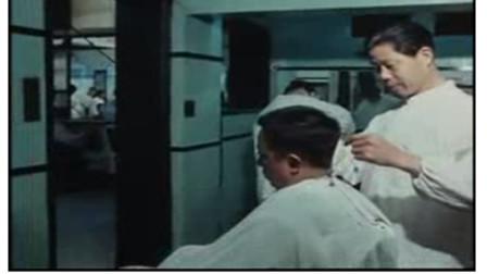 70年代上海国营理发店 带你看看上海老师傅的手艺