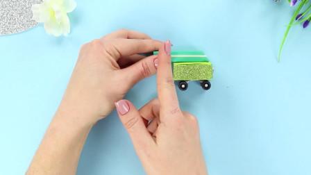 可爱又好玩的多功能铅笔小车