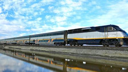 美国为何不建高铁?看到人家的火车,怪不得不建高铁!