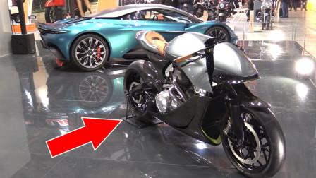 阿斯顿马丁推出首款摩托车!全球限量50辆,售价仅需80万!
