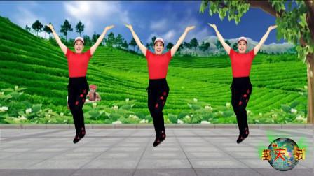 新式跺脚舞《山路情歌》增加腿部力量,激活气血预防腿抽筋