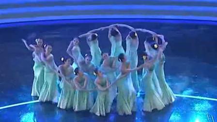 云舞裳丨舞蹈女子群舞傣族舞《水色》北京舞蹈学院 婀娜舞姿 娇媚容颜 连服装都如此清新的淡绿色  好看的水色