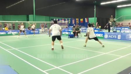外国半职业选手比赛,用做生意的钱维持羽毛球开销,能打过吗?