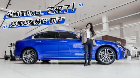 """新车初体验2019-变帅变强的英伦""""豹子"""" 全新捷豹XEL到店实拍"""