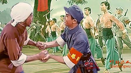 芭蕾舞剧-白毛女:解放后,大春在追击黄世仁时,山中遇见了喜儿
