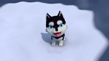 小狗掉进雪洞,有什么办法可以救它?