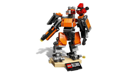 LEGO乐高积木玩具守望先锋系列75987堡垒套装速拼