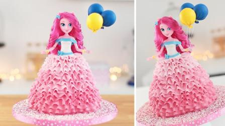 真实还原《小马国女孩》蛋糕,这是我见过最精致的,没有之一