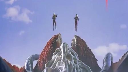 奥特曼:怪兽也太巨大了,就连奥特曼在它面前也是那么的小!