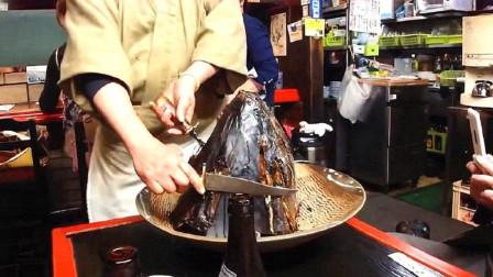 国外大厨是怎样处理金枪鱼头的开餐前举办神秘仪式吃饭都变成了一门艺术