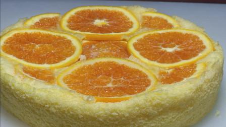 橙子和鸡蛋还能这样吃,简单易学,营养好吃不上火,比外边买的好吃