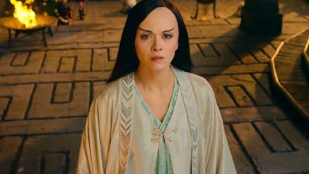 女儿国:河神想带国师离开,国师想到自己的使命,忍痛拒绝心上人