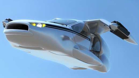 国内造出飞行汽车,能垂直上天飞行,外形科幻的不像现代产品!