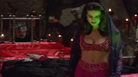《辛巴达历险记》魔女太过爱慕辛巴达,因为被拒绝了数次,与恶魔做交易卷土重来