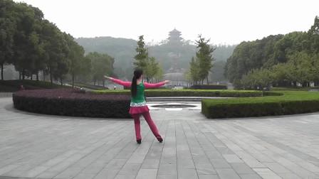 歌曲《恋爱达人秀》,广场舞背面详细演示,掩饰不住的可爱!
