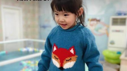 超可爱狐狸卡通套头衫 亲子装  【小眯眼】 3 前片2