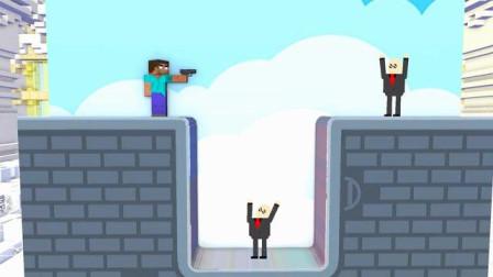 我的世界动画-怪物学院-天使子弹先生