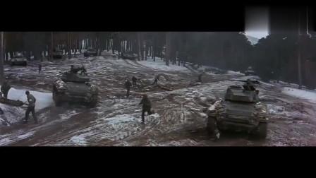 外国战争片,劲爆的坦克战,精彩