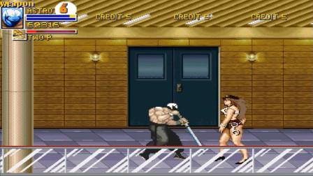街机《快打旋风》迎来最强外援,摔角大佬反手拿刀辣手摧花