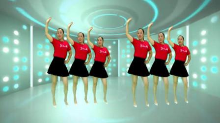 热门广场舞《人在江湖》时尚32步 动感活力 真好看