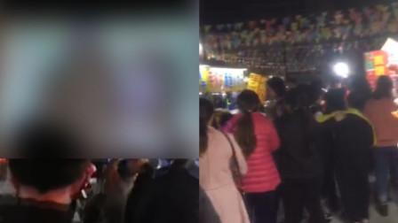广东揭阳一村庄当众播放不雅电影,第一时间赶到现场