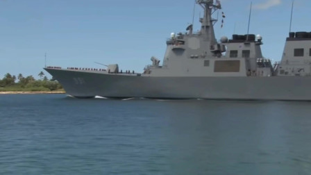 韩国世宗大王号驱逐舰排水量12000吨,128个垂直发射单元火力强大