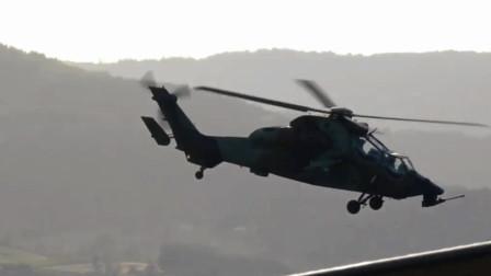 欧洲的虎式直升机世界上第1种有空战能力武装直升机
