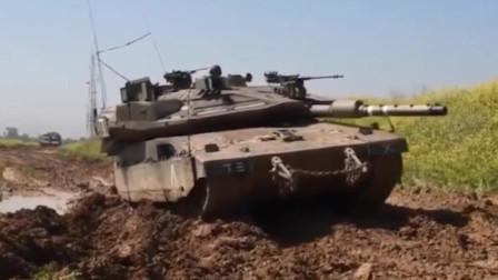 以色列梅卡瓦主战坦克,从实战中走出的经典造型重甲坦克