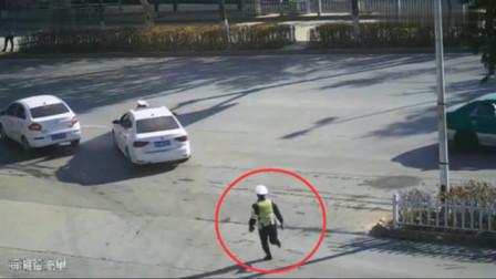 无证驾驶冲撞交警,注定摊上大事,接下来更是可恶