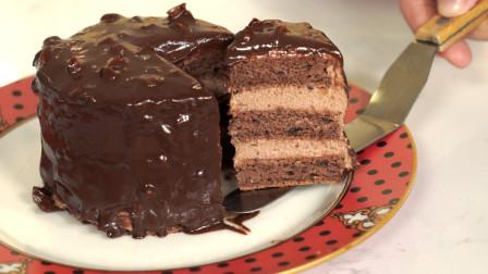 私房必备梦龙巧克力蛋糕,好吃的停不下来