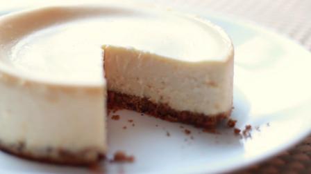 教你正宗的纽约芝士蛋糕做法,口感绵密、入口既化,自己在家就能做
