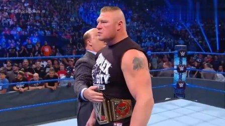 ufc163 WWE海曼称布洛克已走出UFC失利阴影 凯恩称要给大布再美容一次