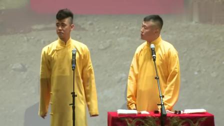 张云雷杨九郎学豆腐太逗了,杨九郎:血豆腐